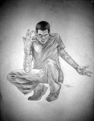 new self portrait by xaqBazit