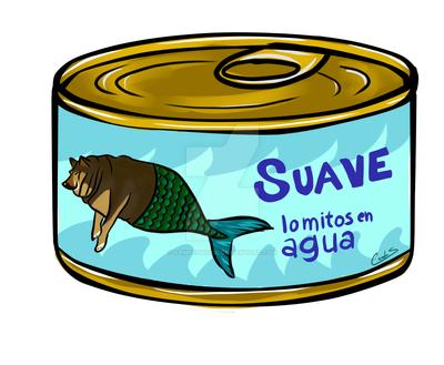 El Perrito Super Gordito : Suave Al Agua by KamSethdrid