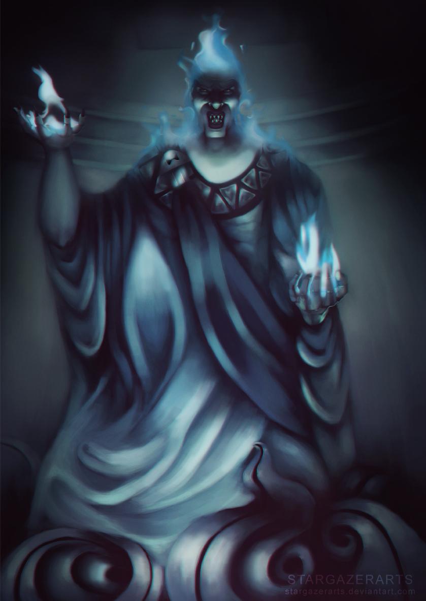 Hades (Disney) God of the Underworld by StargazerArts on ...  Hades (Disney) ...