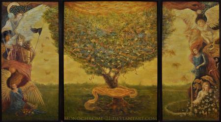 the tree of prosperity by monochrome-21
