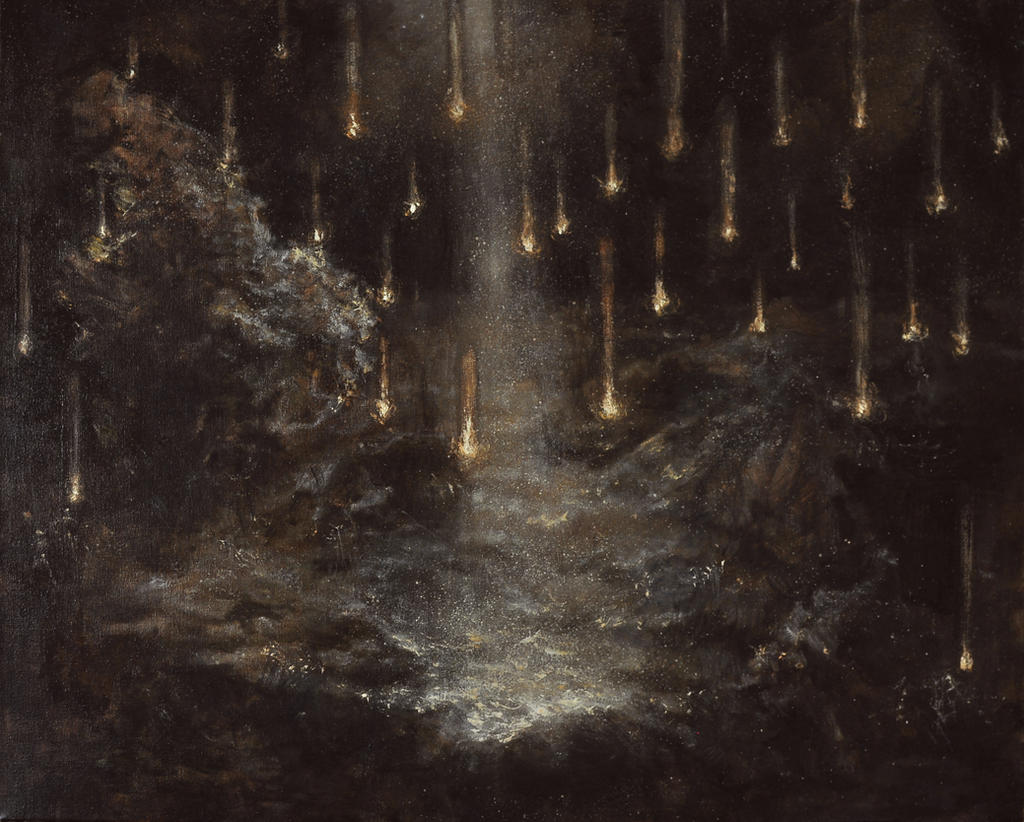 Starfall by monochrome-21