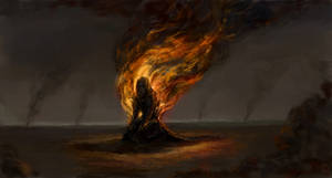 Burn by monochrome-21