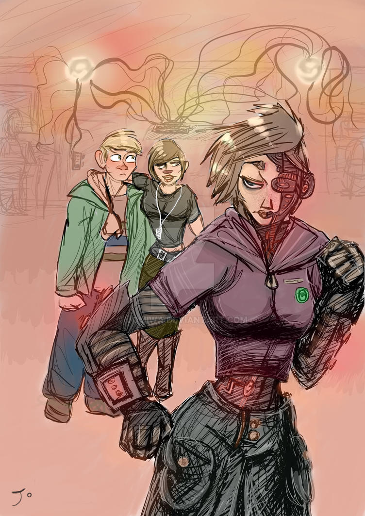 Connie, Scott, and Anna B. by JoMiwa