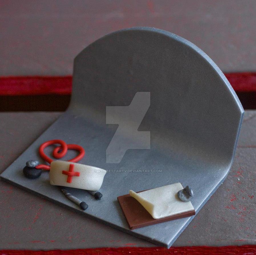 Nurse Theme\'d Business Card Holder by vsweettartv on DeviantArt