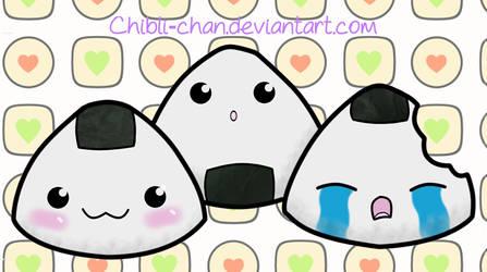 Riceballs by Chibli-chan