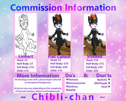 OPEN - Commission Infomation