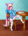Panty Shot! by Chibli-chan