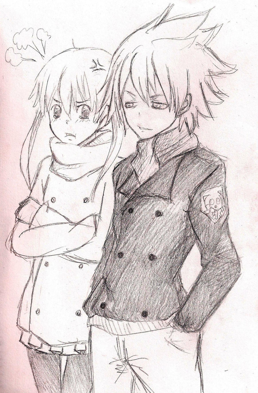 Cute Love Anime Sketch Images