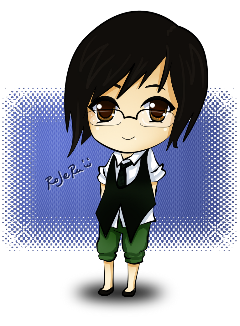Chibi With Glasses Rojeru chibi by rojeru Chibi Instagram Nerd You Know Youre So Mexican If