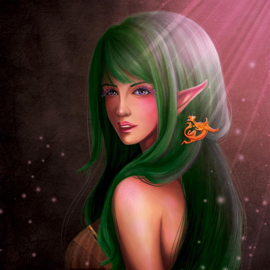 Forest Elf by rojeru