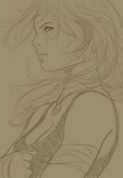 Soft Eyes Sketch