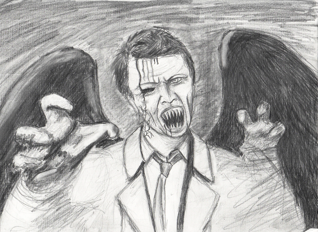 Leviathan!Cas by shipleyweasley