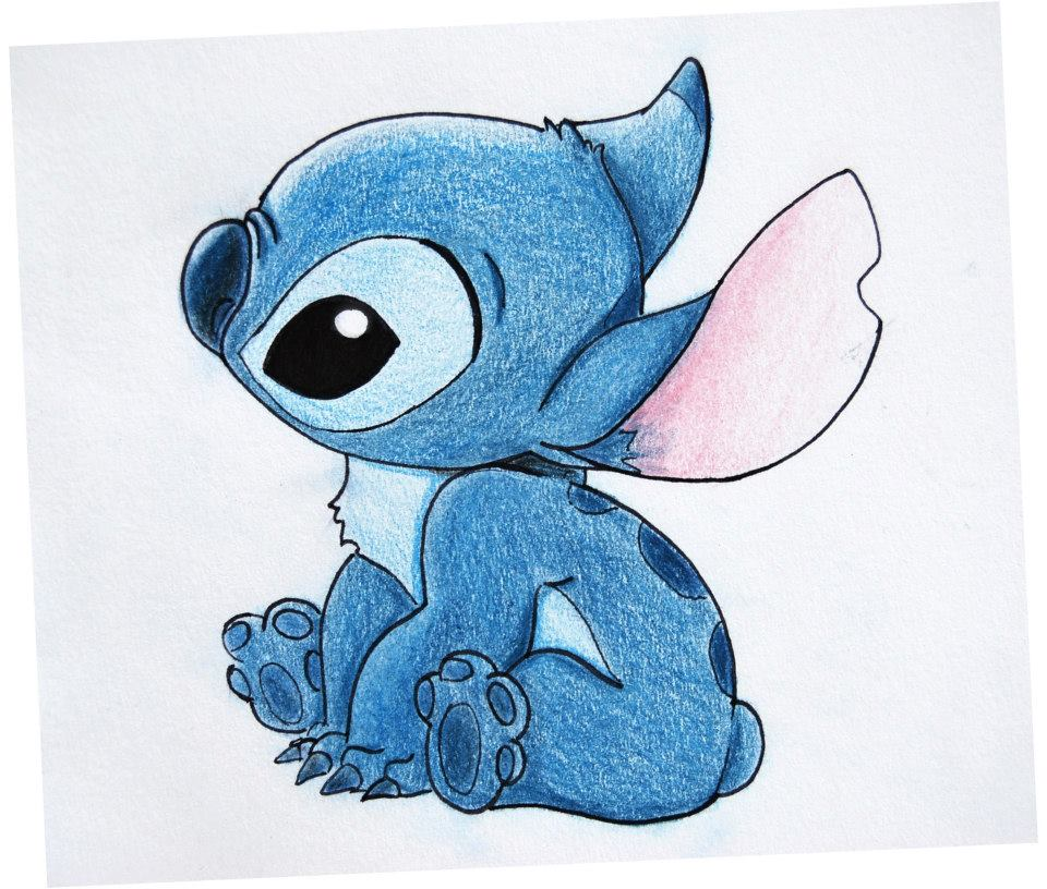 Disney characters drawings stitch
