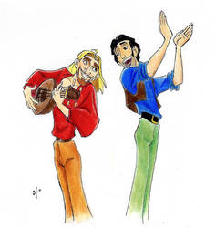 Miguel and Tulio - The road to Eldorado