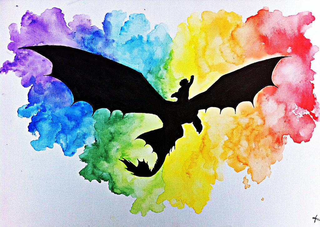 Flying Through The Rainbow