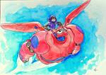 Invincible - Hiro and Baymax (big hero 6)