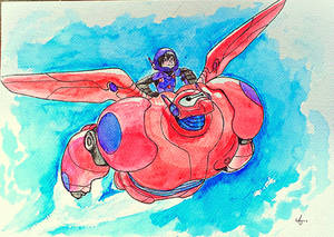 Invincible - Hiro and Baymax (big hero 6)