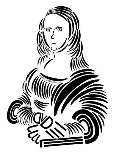 Mona Lisa Trebuchet Typography by offernandinhoon