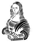 Mona Lisa Trebuchet Typography
