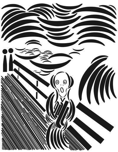 The Scream Trebuchet Typo by offernandinhoon