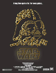 STAR WARS Movie Poster by offernandinhoon