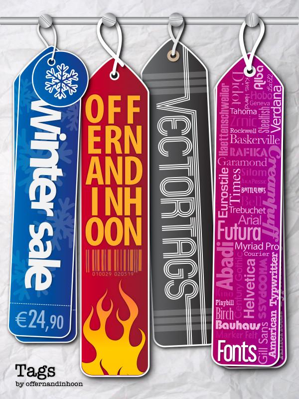 Hanging Tags by offernandinhoon