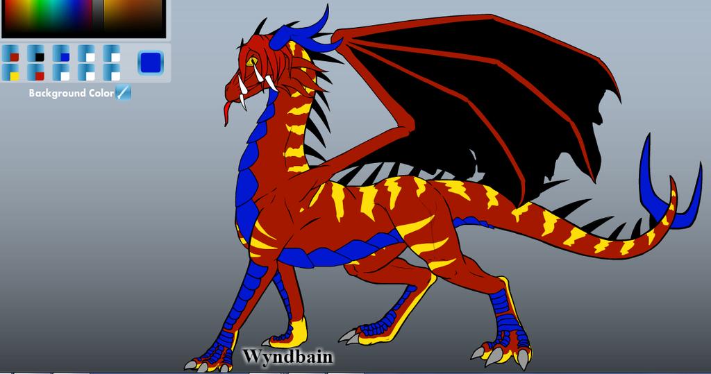 Razeth, Experimental Dragon by UmbrotheUmbreon