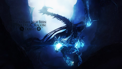 Screw You, I'm A Dragon by JossGFX