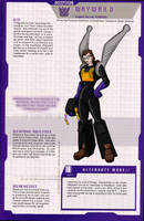 Wayward's silly MTMTE profile by WaywardInsecticon