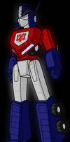 TF Forever - Optimus Prime by WaywardInsecticon