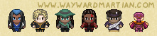 Assorted Harbourmaster sprites by WaywardInsecticon