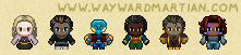 Assorted Harbourmaster sprites 2 by WaywardInsecticon