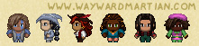 Assorted Harbourmaster sprites 3 by WaywardInsecticon