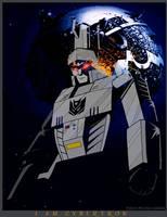 Megatron - I Am Cybertron by WaywardInsecticon