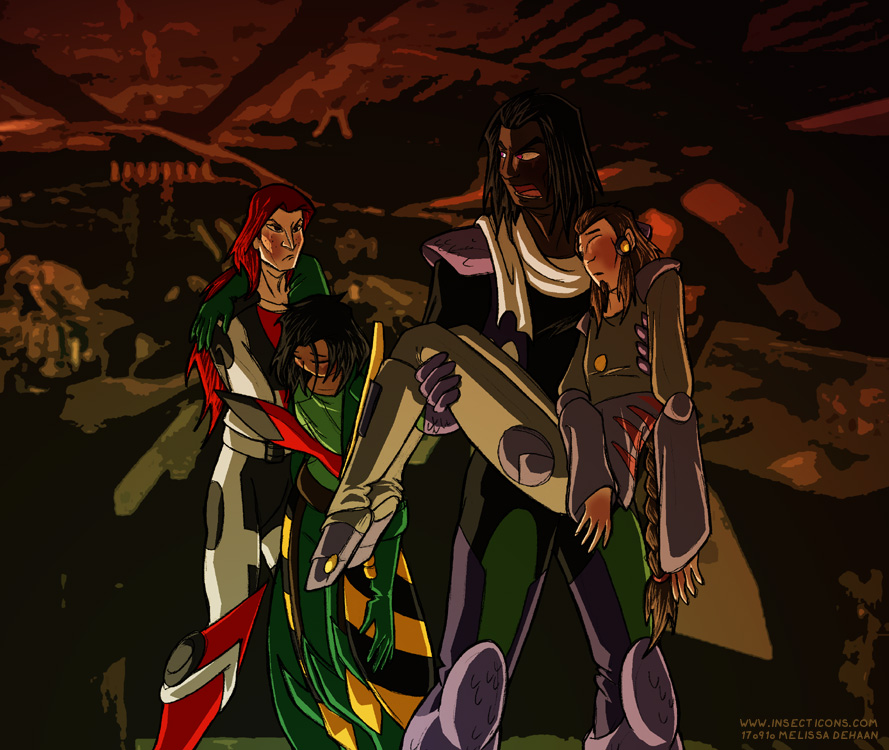 Other Vengeance Ch1 Cover by WaywardInsecticon