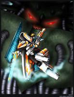 Vector Prime vs Liege Maximo by WaywardInsecticon