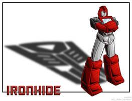 Ironhide, simple by WaywardInsecticon