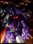 Galvatron and his lieutenants