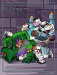 Snowcat and Demolishor