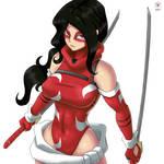 Scarlet Lotus Anime Style