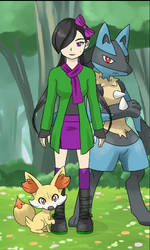 Anhi Poketrainer by LadyDreamMaker