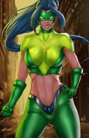 Galaxy -La Guardian Esmeralda by LadyDreamMaker