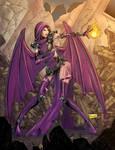 Purple Dragon By Shono