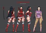 Scarlet Lotus / Loto Escarlata - Character Sheet