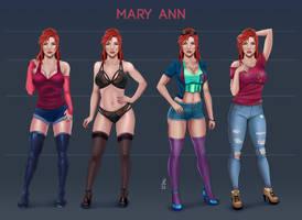 Mary Ann - Character Sheet
