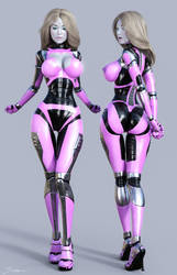 Character Reference Cyberslave by TIangtam
