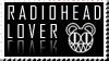 Stamp Radiohead by letitbeatles