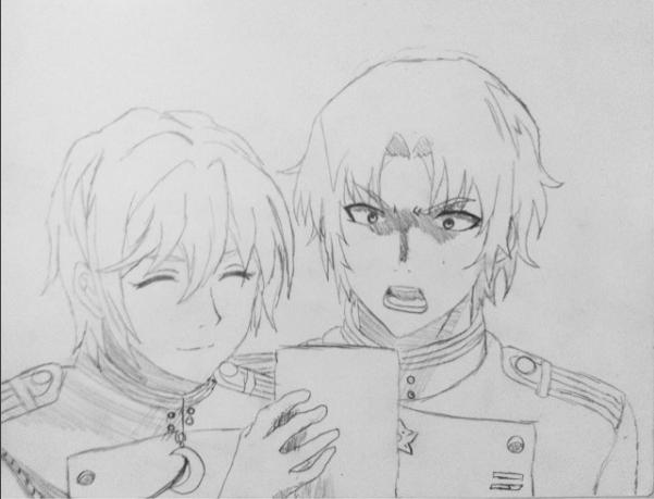 GureShin Sketch by rin-rose-art