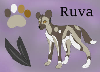 Painted Dog Sona by PainterRaven