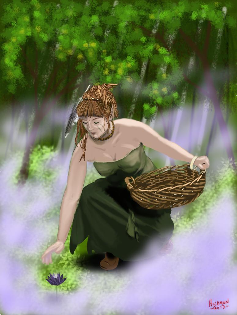 Picking the Lotus by Nesariel